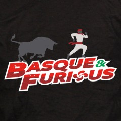 Basque and furious - t shirt Pays Basque