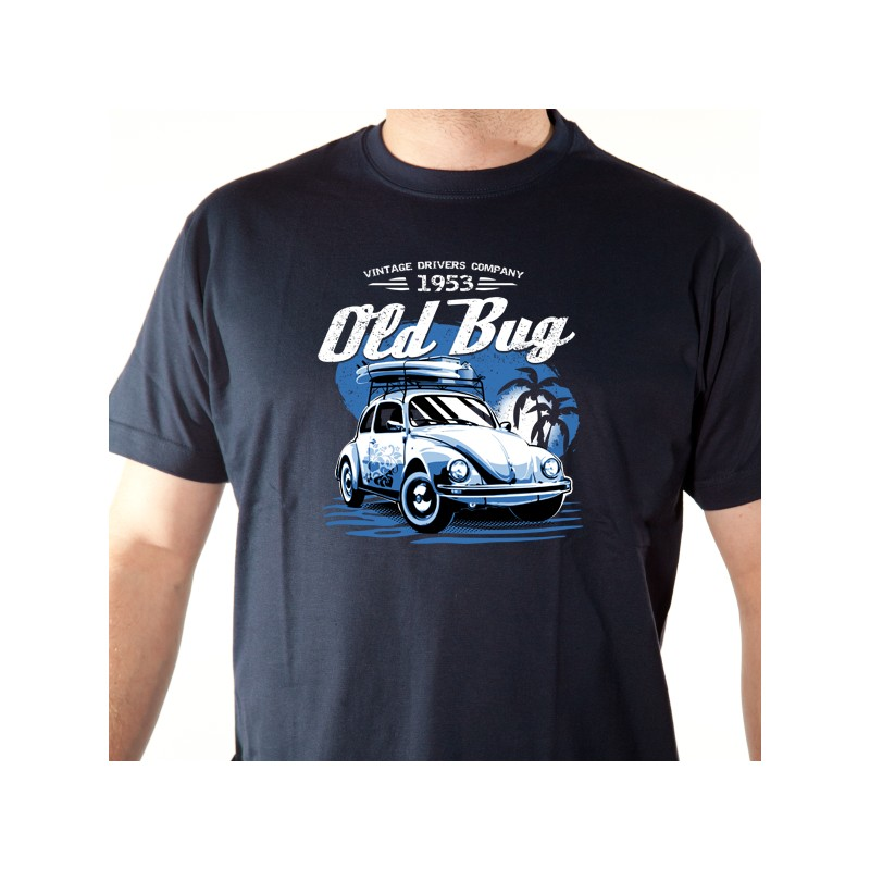 t shirt voiture coccinelle - old bug cox