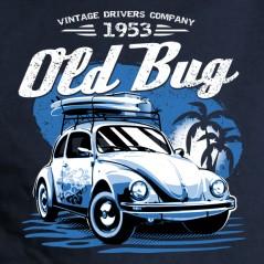Old bug Cox - t shirt personnalisé auto