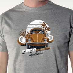 Cococcinelle - t shirt auto humour