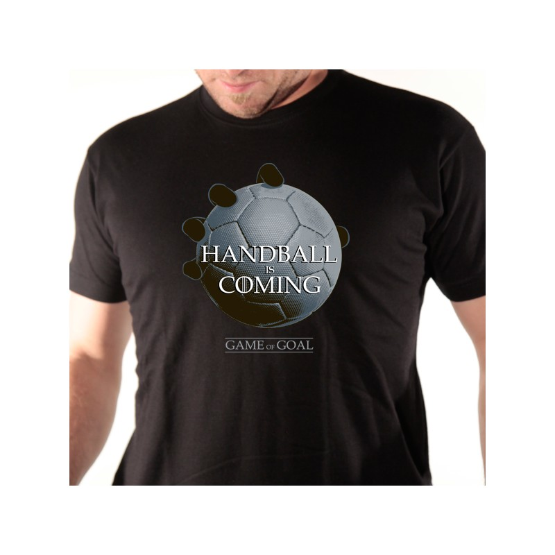 t shirt handball - handball is coming