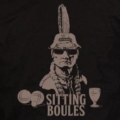 Sitting boules - t shirt pétanque