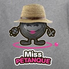 Miss pétanque - t shirt pétanque