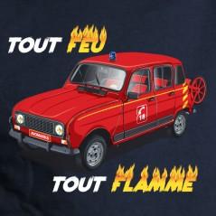 4L des pompiers - t shirt 4L