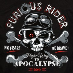 Furious rider - t-shirt moto