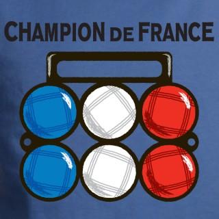 Champion de France de pétanque