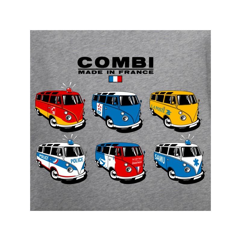 t shirt combi de volkswagen - combi france