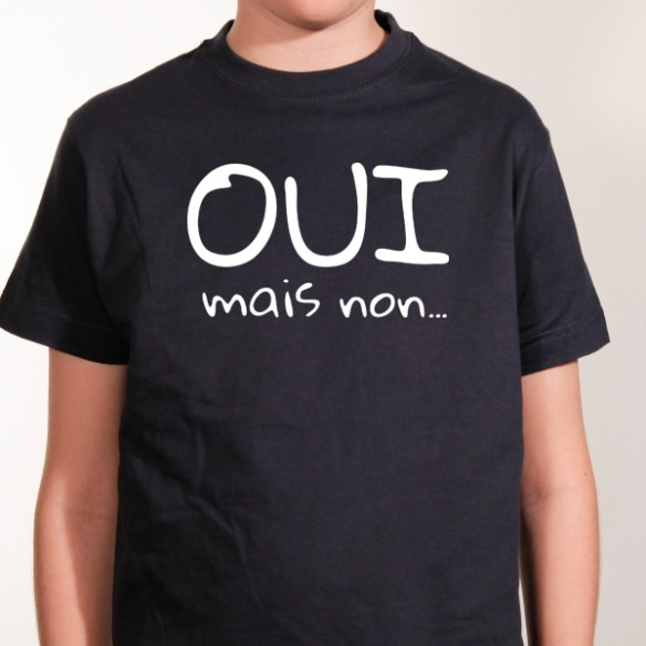 T-shirt \'Oui mais non\'