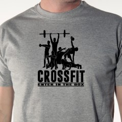 t-shirt crossfit-Enter in the box