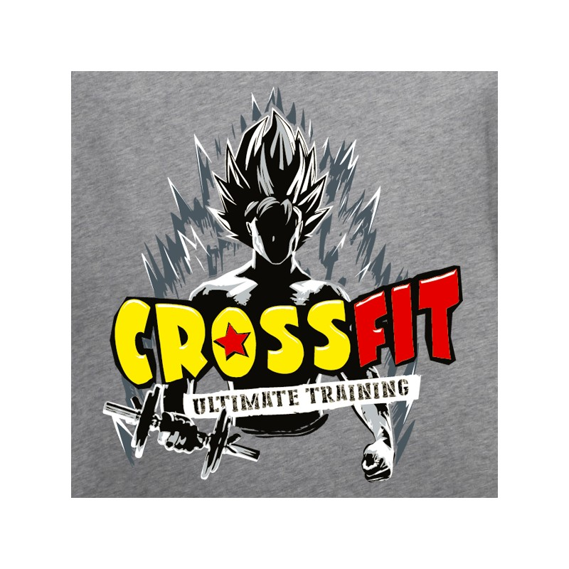 t shirt crossfit- crossfit dragon ball z
