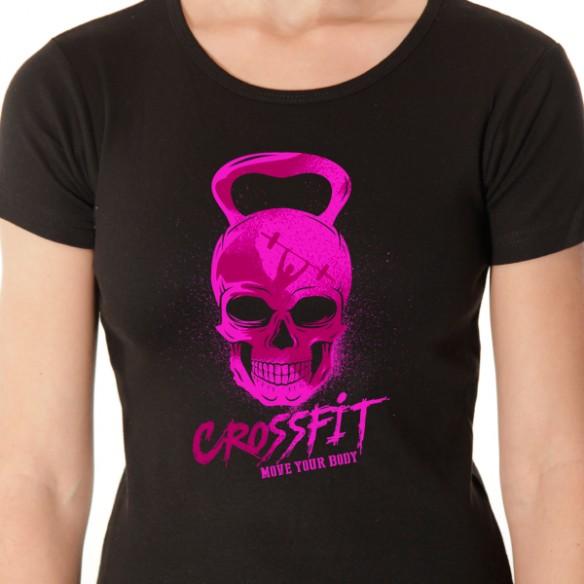 Crossfit pink skull