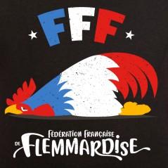 t shirt France - Flemmardise - Avomarks