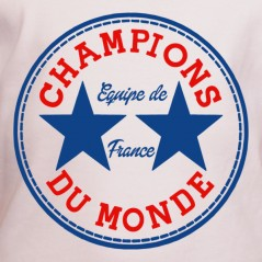 tee shirt equipe de france - Champion du monde