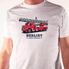 t shirt pompier - Camion Berliet