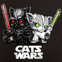 T shirt Parodie - Cats wars