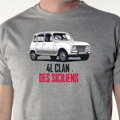 t-shirt 4L - 4L Clan des Siciliens