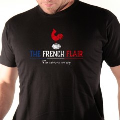 t shirt rugby - French flair