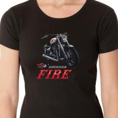 T shirt motard - American rider