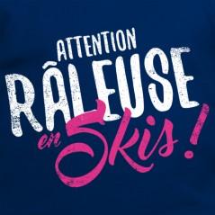 t shirt Les Alpes - Râleuse ski