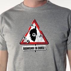 T shirt Corse - Bienvenue en Corse