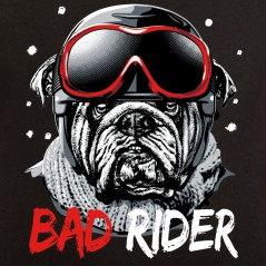 t-shirt Les Alpes - Bad rider