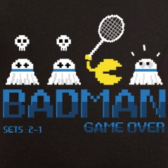 t shirt badminton - Badminton player