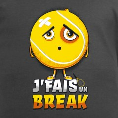 t-shirt tennis - J'fais un break