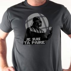 T shirt pétanque - Je suis ta paire