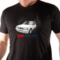 t-shirt auto - 205 Rallye