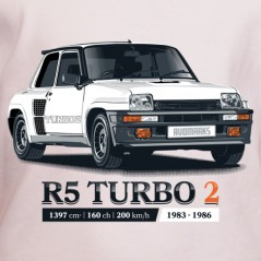 t shirt auto - R5 turbo 2