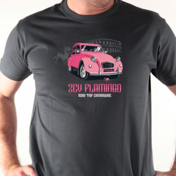 2 CV Flamingo