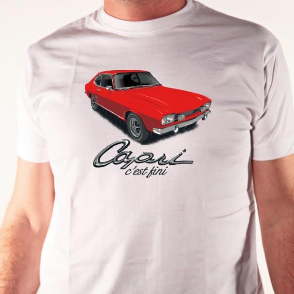 T shirt auto - Capri c'est fini