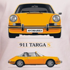 T shirt auto - 911 Targa S