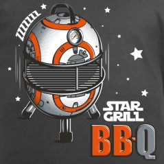 t shirt parodie star wars - BBQ star