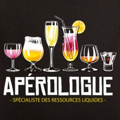 t shirt alcool - Apérologue