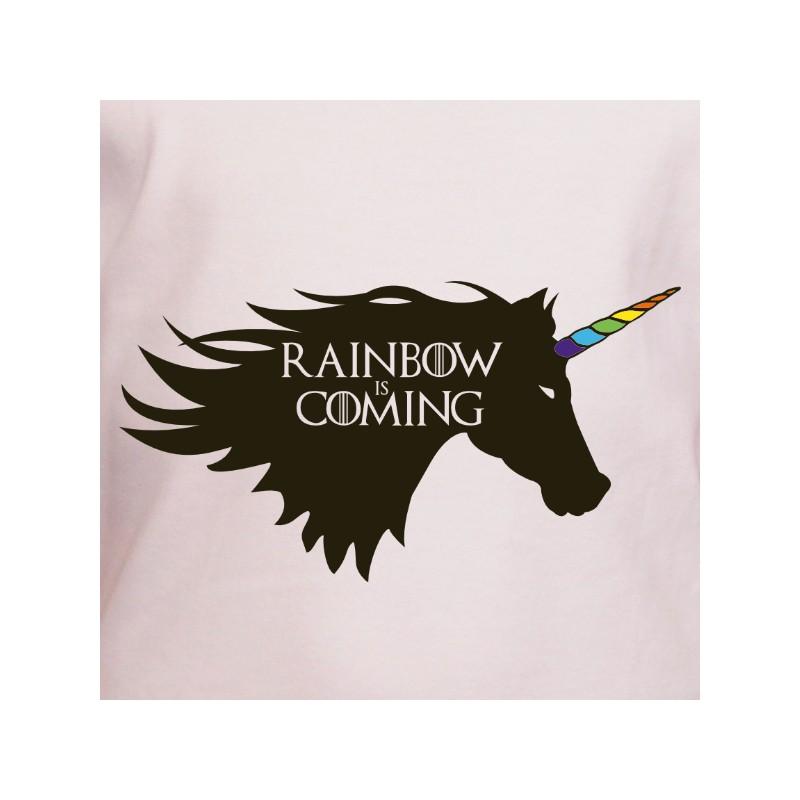 t shirt parodie - rainbow is coming