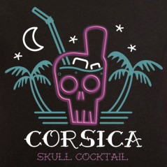 Corsica skull cocktail