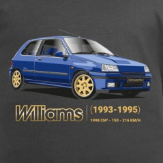 t shirt Clio williams