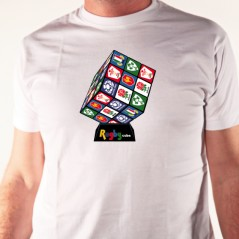 t shirt - Rugby's cube 6 nations