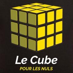 T shirt Cube pour les nuls