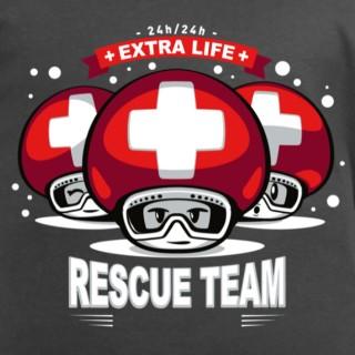 T shirt Team rescue