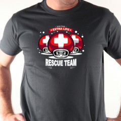 T shirt Team rescue