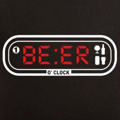 t-shirt Beer o'clock