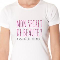 t-shirt Mon secret de beauté
