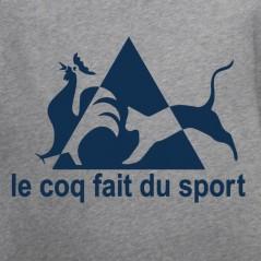 t shirt Le coq fait du sport