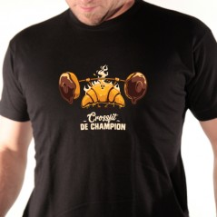 t shirt Crossfit de champion