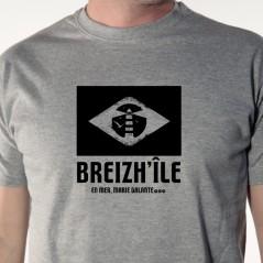 t-shirt Breizh'île