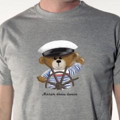 t-shirt Marin d'eau douce