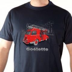 T shirt Goélette pompier