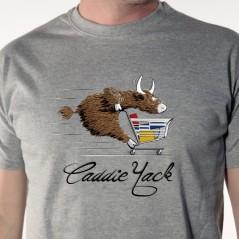 tee-shirt Caddie yack